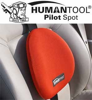 Lumbar support backrest for car & belt