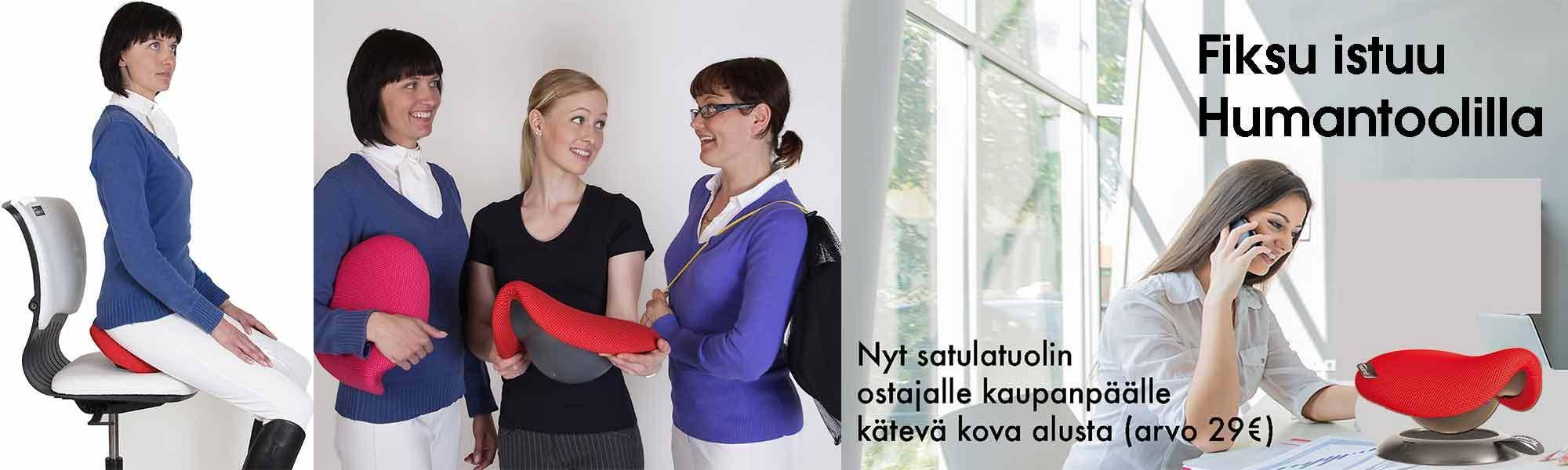 Satulatuoli - selkäkipu pois - Humantool.fi